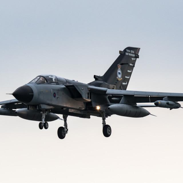 """""""Tornado Landing"""" stock image"""