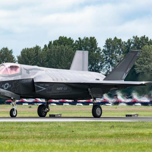 """F-35 Lightning II"" stock image"