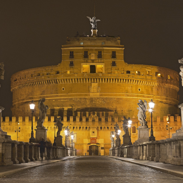 """Sant'Angelo Castle"" stock image"