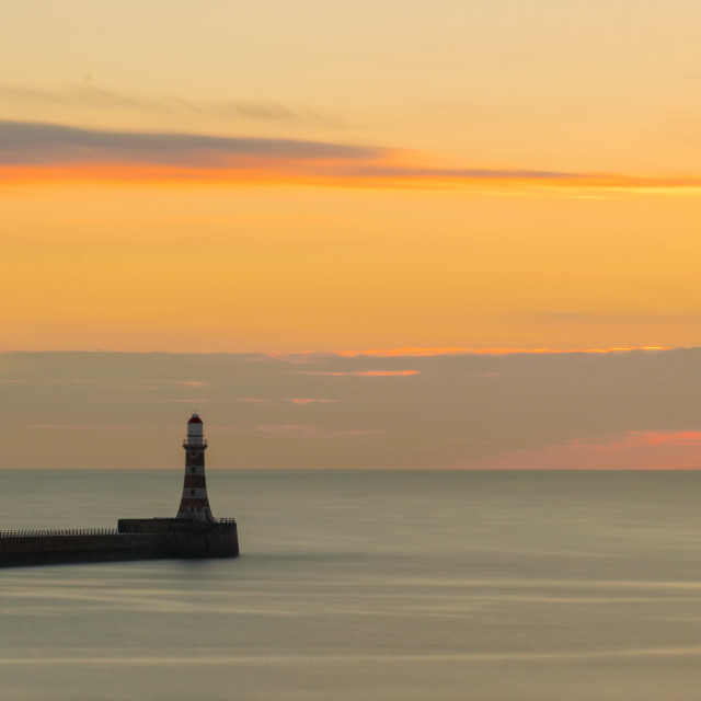 """Roker Sunrise"" stock image"