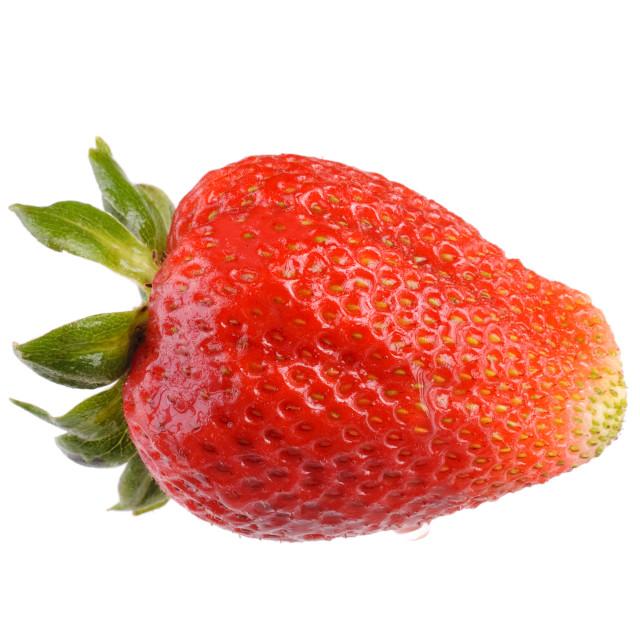 """""""Fruit: Isolated fresh ripe strawberry"""" stock image"""