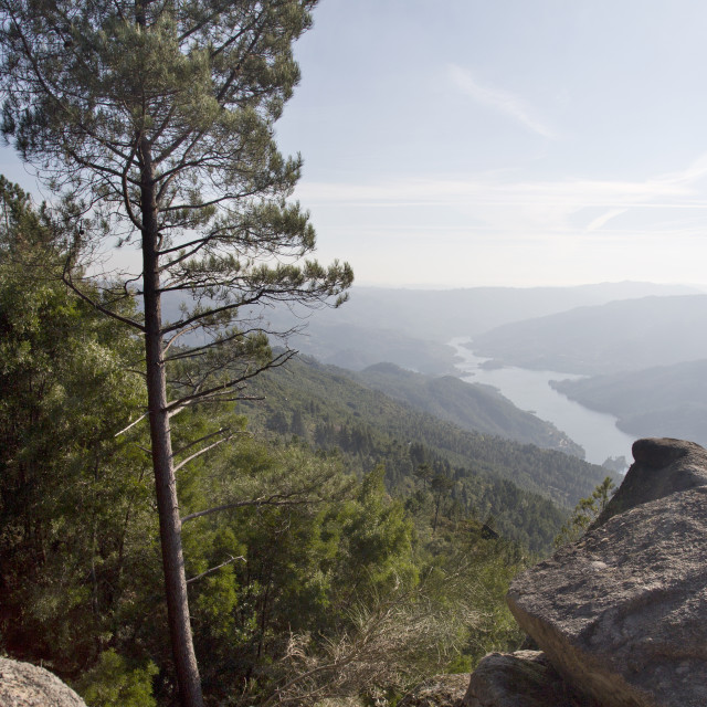 """Pedra Bela Viewpoint"" stock image"