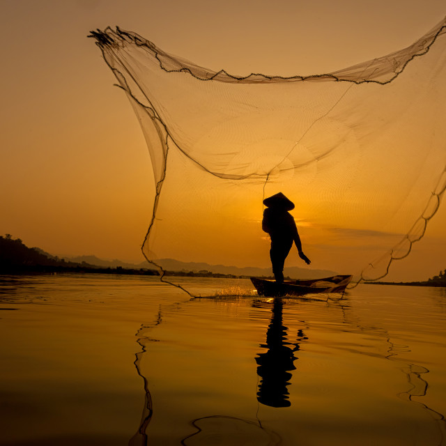 """fisherman"" stock image"