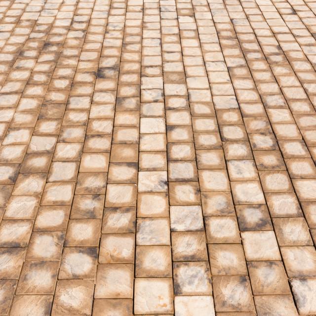 """""""Floor Cobble Stones"""" stock image"""