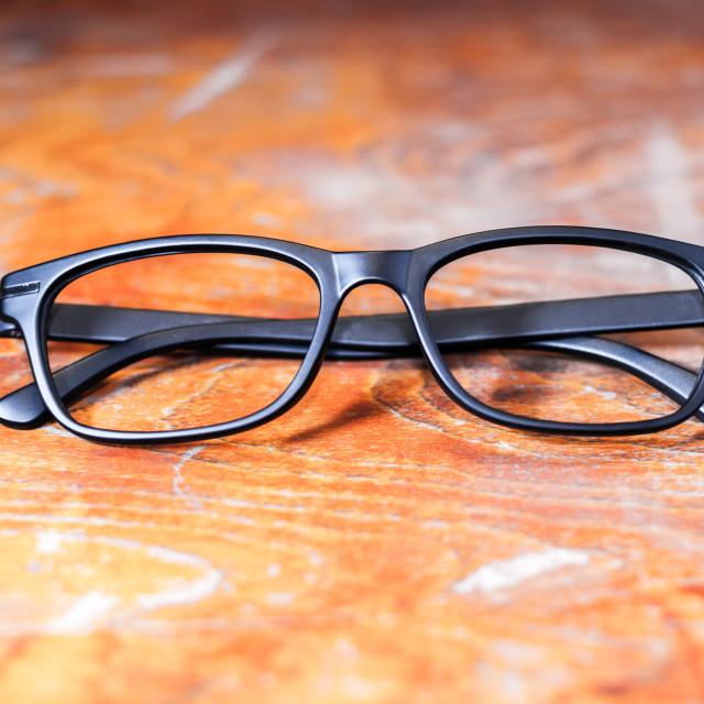 """""""Retro Optical Frames"""" stock image"""