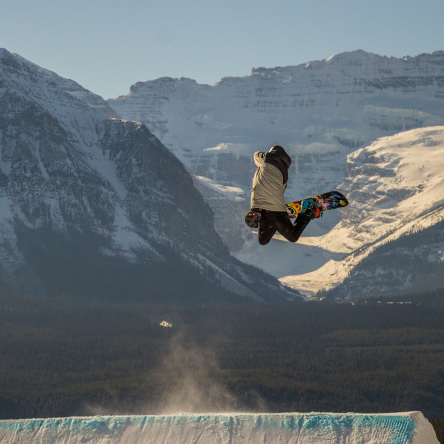 """Snowboard mountains"" stock image"