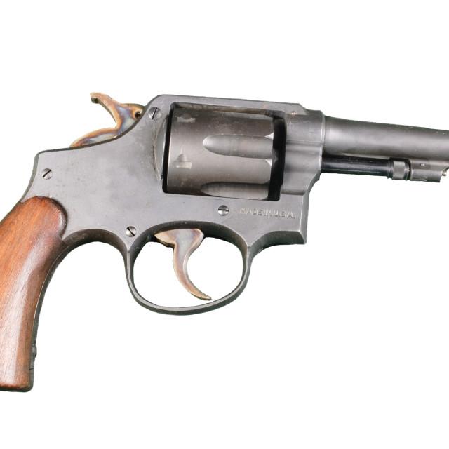 """revolver"" stock image"