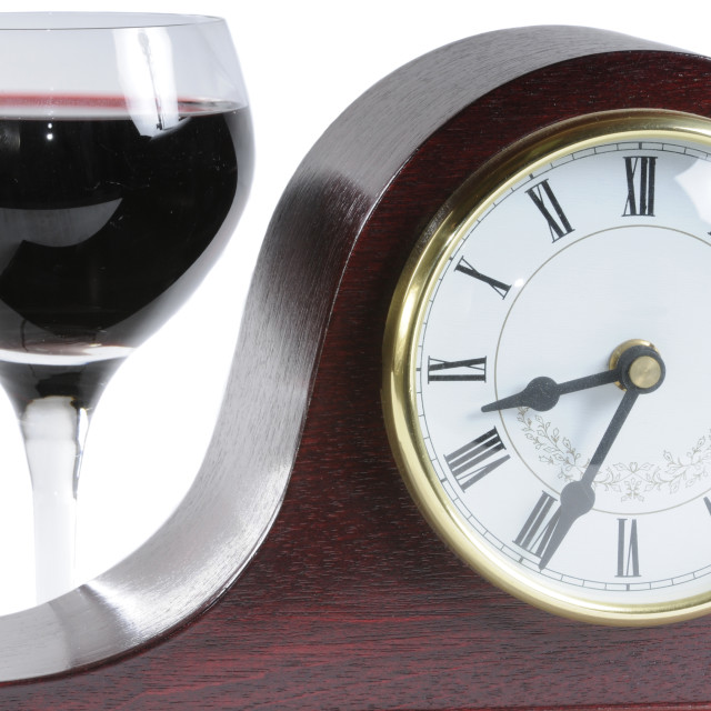 """""""Time for a drink"""" stock image"""