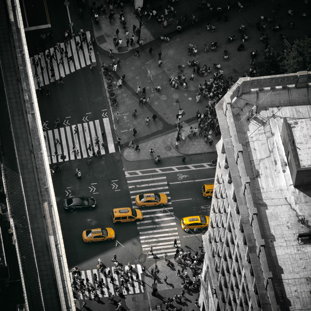 """""""NYC from the top"""" stock image"""