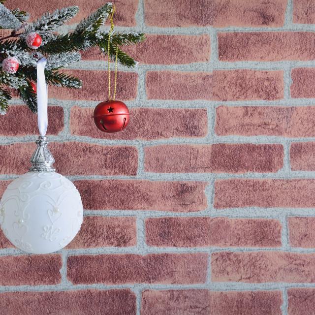 """""""Decorative christmas ball"""" stock image"""