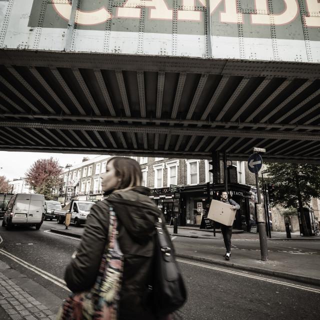 """Urban Street Scene"" stock image"