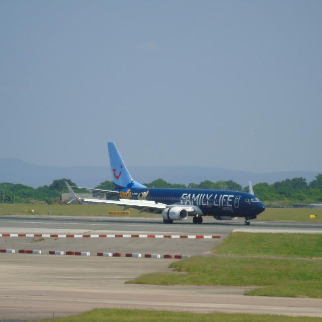 """Thomson Aircraft"" stock image"