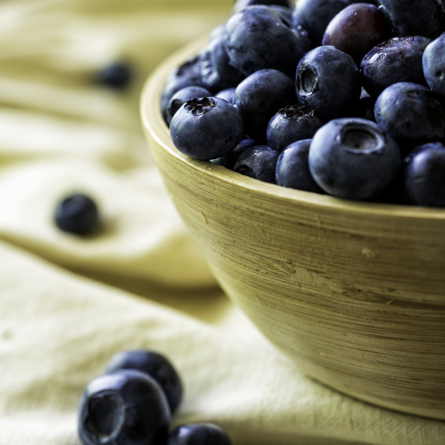 """fresh blueberries"" stock image"