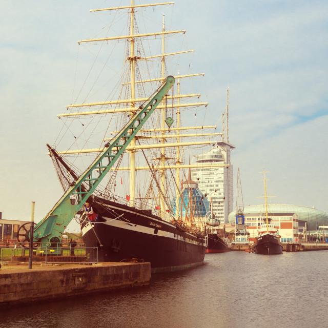 """Bremerhaven 4"" stock image"
