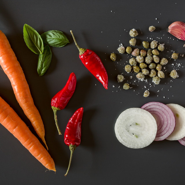 """""""Fresh organic vegetables for a healthily cooking"""" stock image"""
