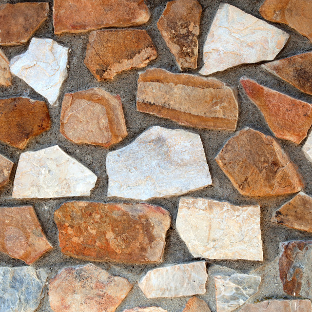 """""""Stone wall close up for wallpaper"""" stock image"""