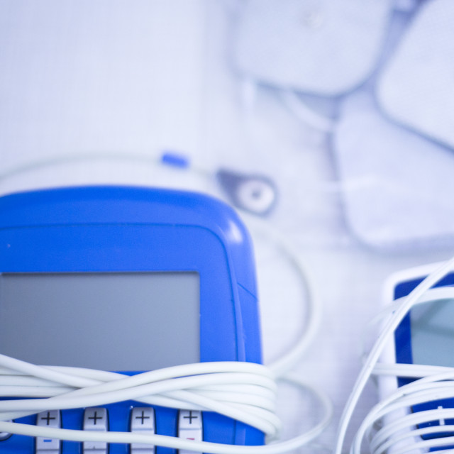 """""""Physical therapy physiotherapy equipment"""" stock image"""