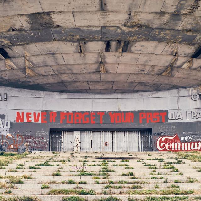 """Enjoy Communism"" stock image"
