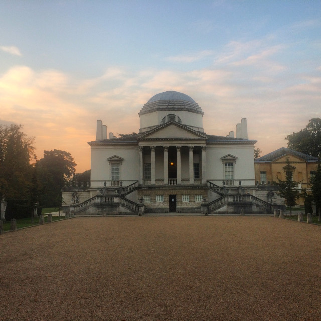 """Chiswick House"" stock image"