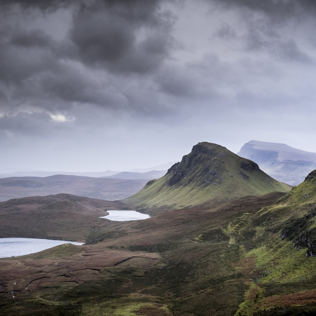 """Trotternish III"" stock image"