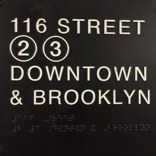 """116th Street Brooklyn"" stock image"