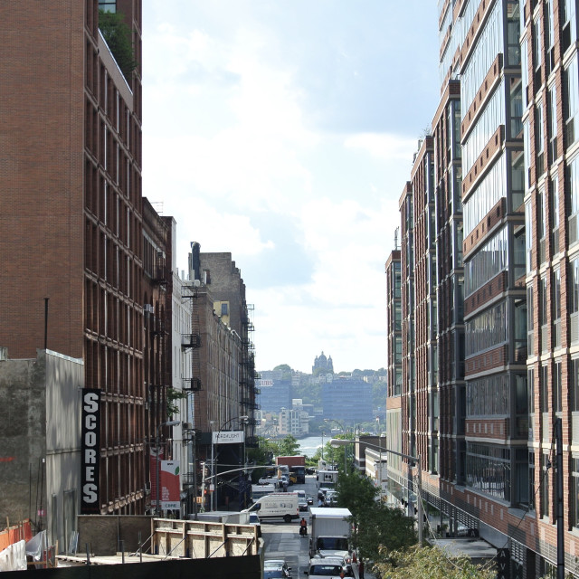 """New York Highline"" stock image"