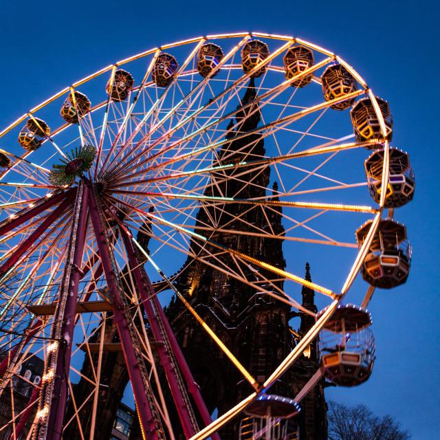 """Christmas Big Wheel"" stock image"