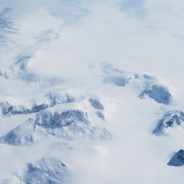 """""""Over Greenland #1"""" stock image"""
