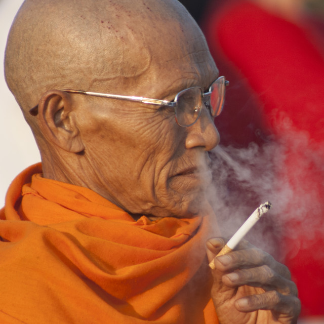 """Holy smoke 2"" stock image"