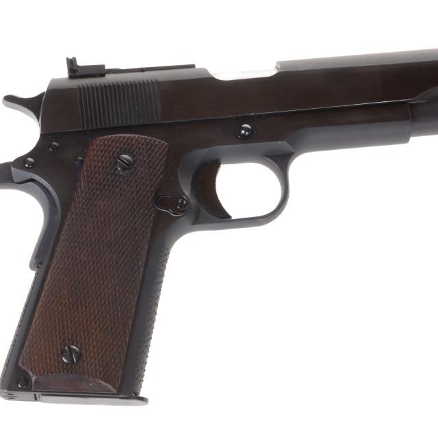 """Semi Auto handgun"" stock image"