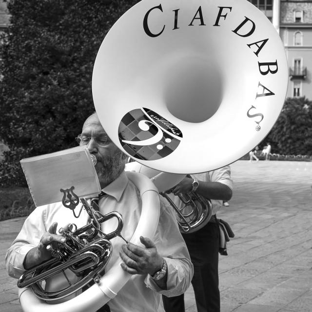 """Tuba."" stock image"