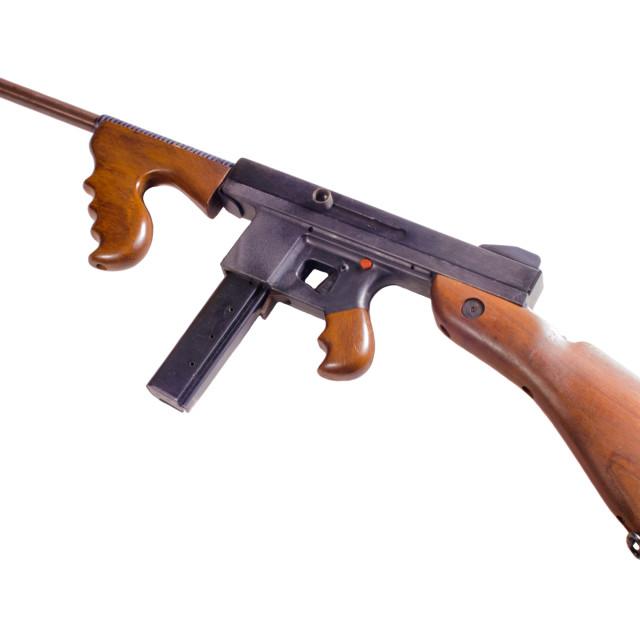 """thompson machine gun"" stock image"