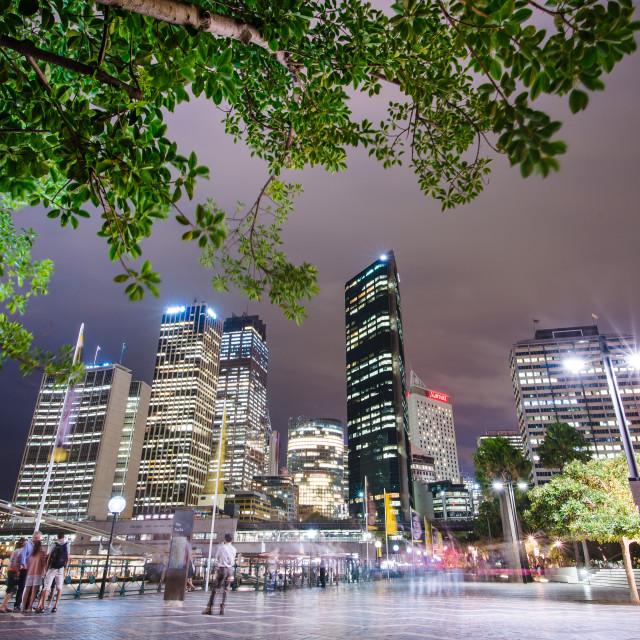 """""""Sydney Harbour, Australia"""" stock image"""