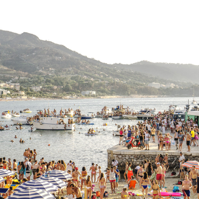 """Sicilian beach"" stock image"