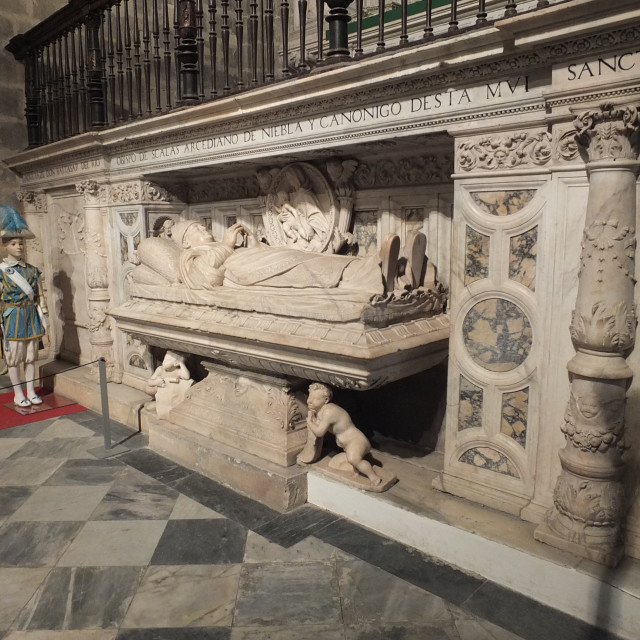 """Tomb Of Don Baltasar Del Rio"" stock image"