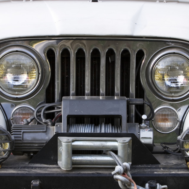 """""""Off Road Vehicle Front End"""" stock image"""