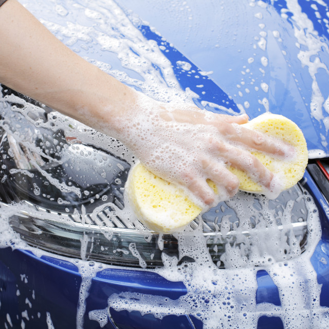 """Car Wash"" stock image"