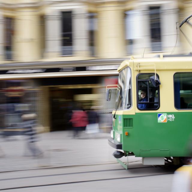"""""""Helsinki Tram"""" stock image"""