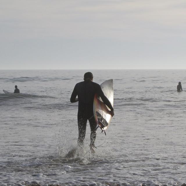 """Surf Splash"" stock image"