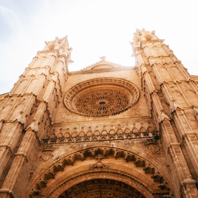 """Cathedral of Palma de Mallorca"" stock image"