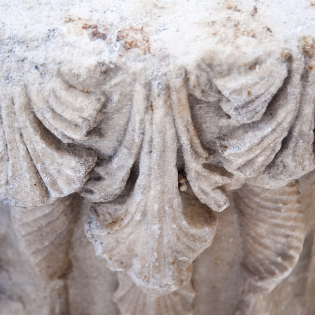 """Ancient column detail"" stock image"