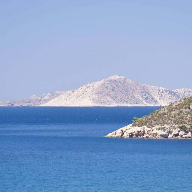 """Aegean in Samos"" stock image"
