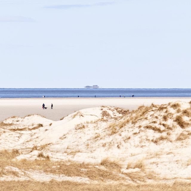 """""""Beach of St. Peter-Ording, Germany"""" stock image"""