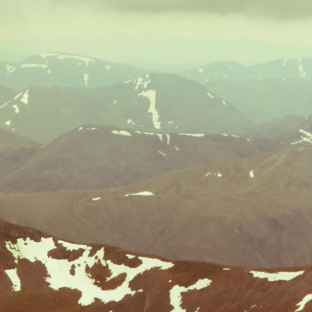 """""""Scotland panorama"""" stock image"""