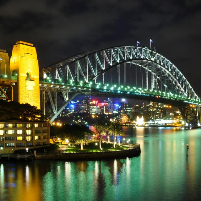 """Sydney Harbour bridge, Australia"" stock image"
