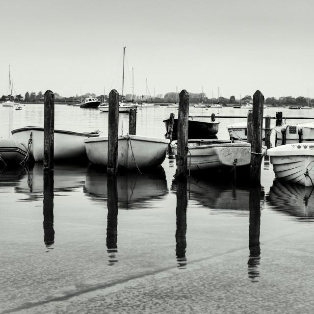 """Moored"" stock image"