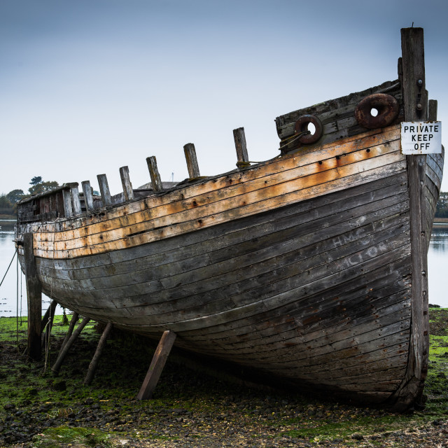 """Wreck"" stock image"