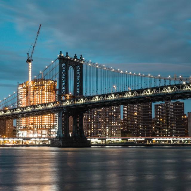 """""""Manhattan Magic"""" stock image"""