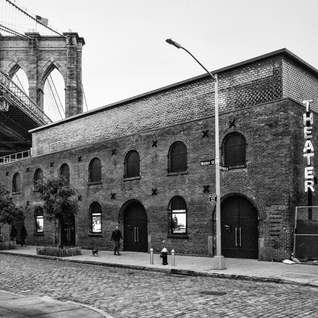 """St. Ann's Warehouse"" stock image"