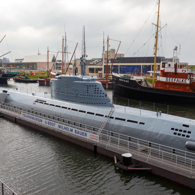"""Submarine 3"" stock image"